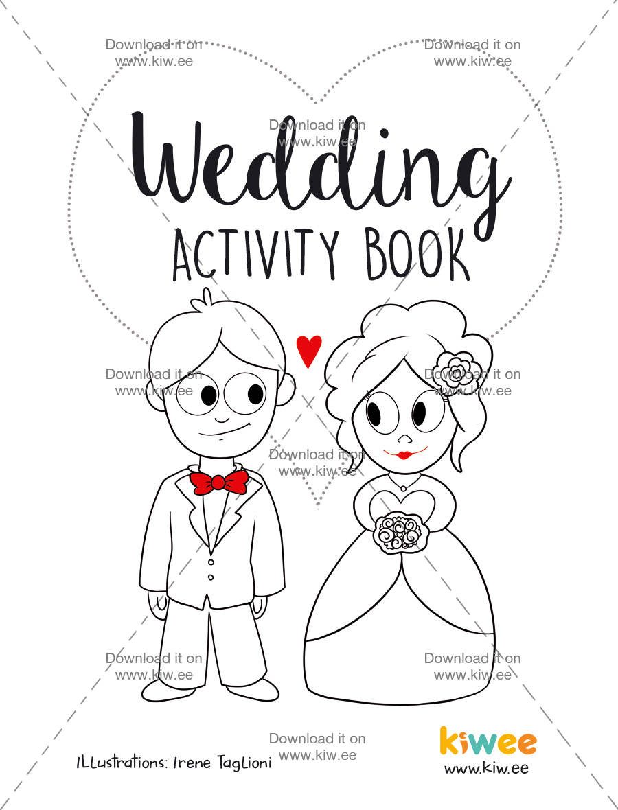 activity book wedding