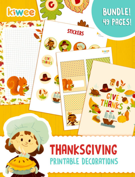 photograph about Thanksgiving Printable Decorations identified as Thanksgiving decorations established